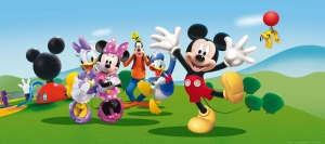 Fototapet Disney - Salutari de la Mickey0