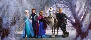 Fototapet Frozen0