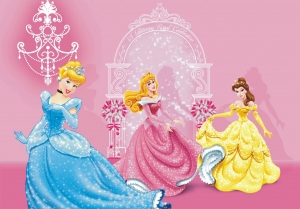 Fototapet Disney - Cenusareasa, Belle si Aurora0