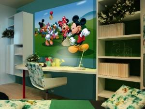 Fototapet Disney - Clubul lui Mickey Mouse1