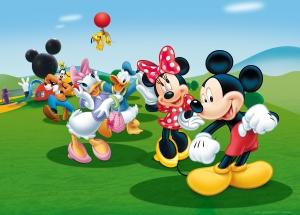 Fototapet Disney - Clubul lui Mickey Mouse0