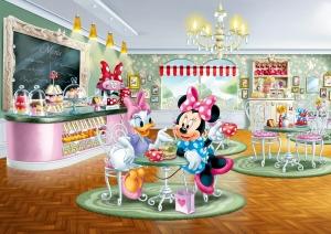 Fototapet Minnie si Daisy la Restaurant0