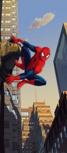 Fototapet Spiderman in Actiune0