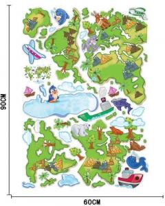 Harta animata a lumii pentru copii2