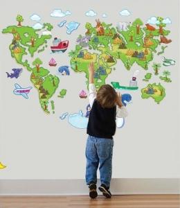Harta animata a lumii pentru copii5