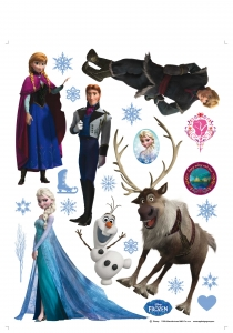 Sticker Frozen - 65x85cm - DK17761