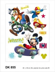 Sticker Mickey Freestyle - 65x85cm - DK8551