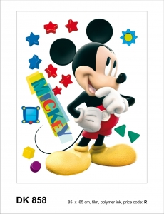 Sticker Mickey Mouse - 65x85cm - DK8581