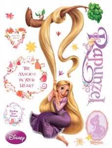 Sticker Rapunzel - 65x85cm - DK8530