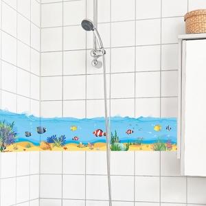 Sticker brauri decorative - Pesti in mare [3]