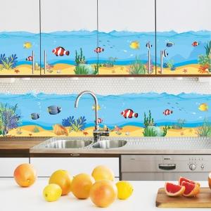 Sticker brauri decorative - Pesti in mare [0]