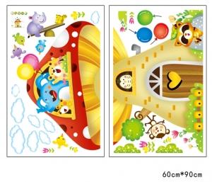 Sticker camere copii - Casuta din ciuperca4