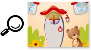 Sticker camere copii - Ciuperca uriasa6
