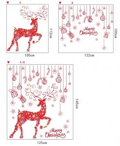Sticker Craciun - Merry Christmas! - globuri si cadouri7