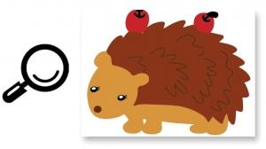 Autocolant de perete camere copii - Animalele padurii5