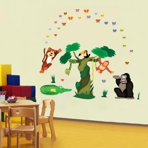 Sticker decorare camere copii - In jungla [3]