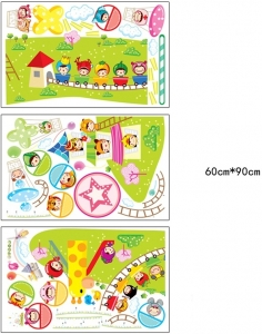 Sticker decorare camere copii - Masurator de inaltime - Parcul de distractii4