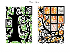 Sticker decorativ - Copacul iubirii cu rame foto5