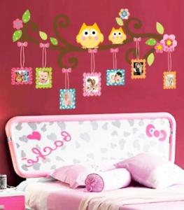 Sticker decorativ copii - Creanga cu rame foto3