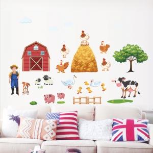 Sticker pentru copii - Animale la ferma0