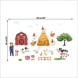 Sticker pentru copii - Animale la ferma8