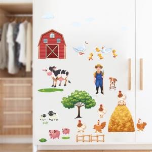 Sticker pentru copii - Animale la ferma3