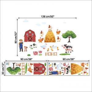 Sticker pentru copii - Animale la ferma6
