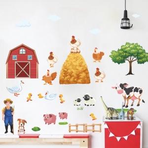 Sticker pentru copii - Animale la ferma2