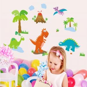 Sticker decorativ copii - Lumea dinozaurilor0