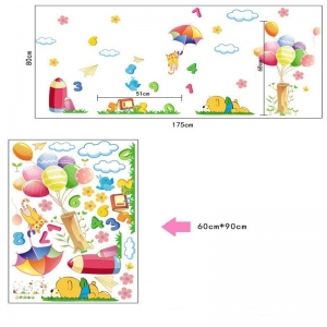 Sticker decorativ copii - Sa ne jucam cu numerele6