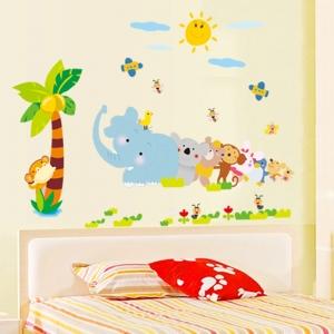 Sticker decorativ copii - Trenuletul animalelor [3]