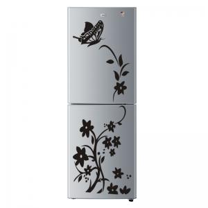 Sticker decorativ frigider - Flori si fluturi3
