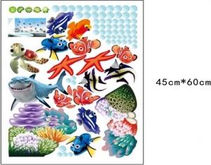Sticker pentru camere bebelusi - Pestisori colorati5