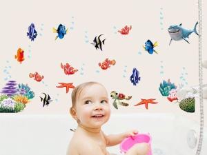 Sticker pentru camere bebelusi - Pestisori colorati1