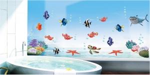 Sticker pentru camere bebelusi - Pestisori colorati3