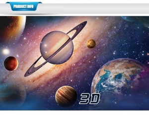 Sticker pentru copii 3D - Planete [6]
