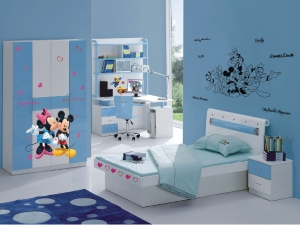 Sticker Mickey Mouse si Minnie - 65x85cm - DK8821