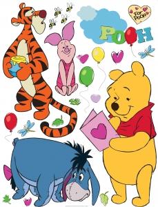 Sticker Winnie the Pooh si Prietenii - 65x85cm - DK8610