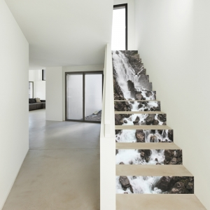 Sticker scari - Cascada pe stanca - 13 trepte de 18x100 cm2