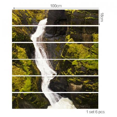 Sticker Scari - Izvor de Munte - 6 folii de 18x100 cm3