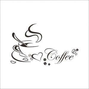 Stickere bucatarii - I love coffee - Ceasca de cafea3