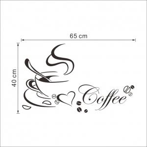 Stickere bucatarii - I love coffee - Ceasca de cafea4