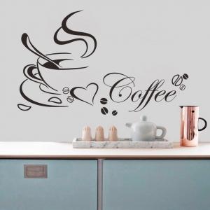 Stickere bucatarii - I love coffee - Ceasca de cafea1