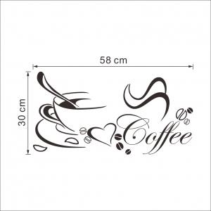 Stickere bucatarii - I love coffee - Ceasca de cafea5