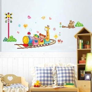 Stickere camere copii - Trenuletul vesel0
