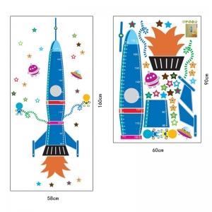 Stickere copii - Grafic de crestere Racheta spatiala - masurator inaltime8