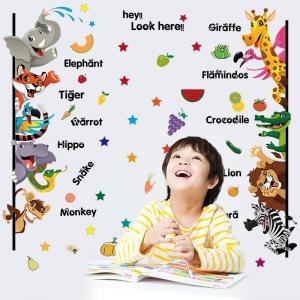 Stickere pentru copii - Animale,legume, fructe (in engleza)5