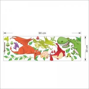 Stickere pentru copii  - Dragoni jucausi2