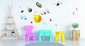Stickere pentru copii - Sistemul solar - Planete1