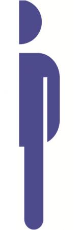 Sticker Indicator Toaleta - Barbati0